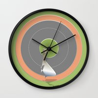 Obesity Runner Wall Clock