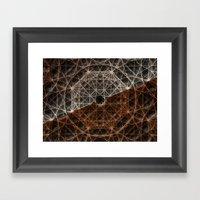 Our Webbed Cognition Framed Art Print