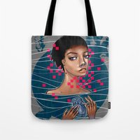 Cold As Heart Tote Bag