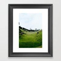 PLAINS Framed Art Print