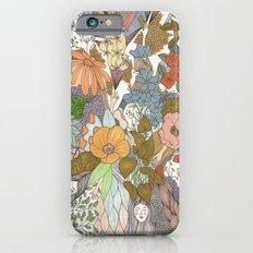 Falling Asleep in the Flowers Fine Art Print Slim Case iPhone 6s