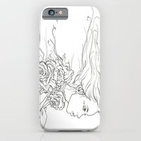 iPhone & iPod Case featuring Whispering Rose by Casstronaut