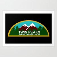 Twin Peaks: Twin Peaks S… Art Print