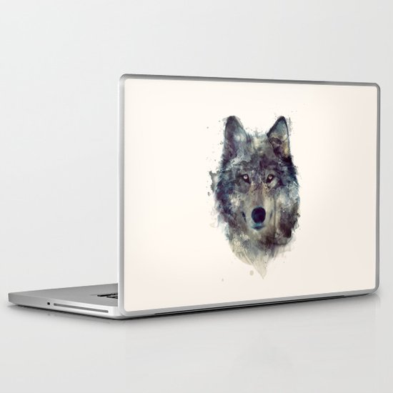 Wolf // Persevere  Laptop & iPad Skin