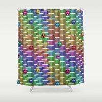 Gluons Shower Curtain
