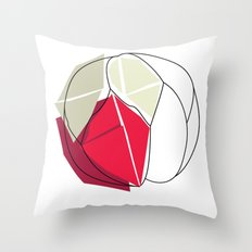 Cartacce Throw Pillow
