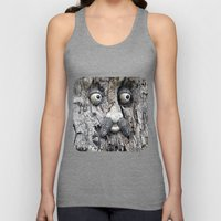 Tree Face Unisex Tank Top