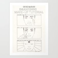 How To Art Print