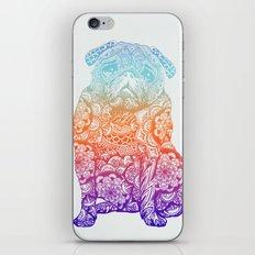 Mandala Pug  iPhone & iPod Skin