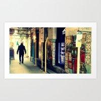 Neals Yard London Art Print