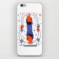 Intertwined 2 iPhone & iPod Skin