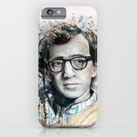 iPhone & iPod Case featuring Woody Allen by Denise Esposito