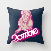 UNDEAD TOY Throw Pillow