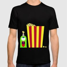 Bubol POP Black Mens Fitted Tee SMALL