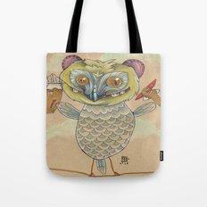 GINGERBREAD BIRD Tote Bag