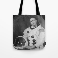Frida in Space Tote Bag