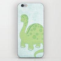 Deeno The Dino iPhone & iPod Skin