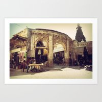 The Armenian Quarter Art Print