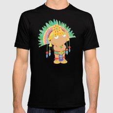 Moctezuma Xocoyotzin Mens Fitted Tee Black SMALL