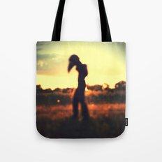 Walker on the Plains Tote Bag