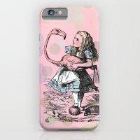 Alice plays Croquet iPhone 6 Slim Case