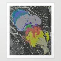 Marble Print #38 Art Print