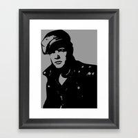 Marlon Brando Framed Art Print