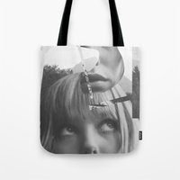 She left pieces of her life Tote Bag