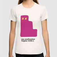 My Confussion Womens Fitted Tee Natural SMALL