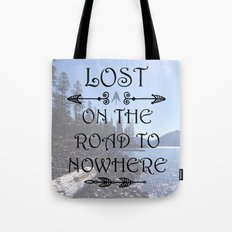 Lost Nowhere Tote Bag
