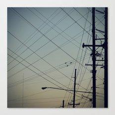 Lines. Canvas Print