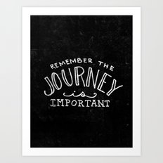 Special Edition Circles 2013 Prints - The Journey Art Print