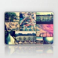 London Collage Laptop & iPad Skin