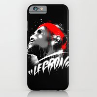 iPhone & iPod Case featuring Lebron J by squadcore