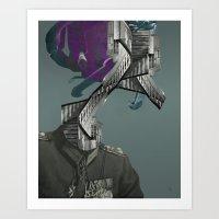 ways of a warhead Art Print