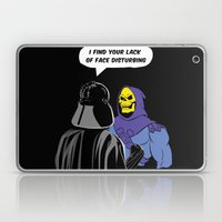 Vader Skeletor I Find Yo… Laptop & iPad Skin