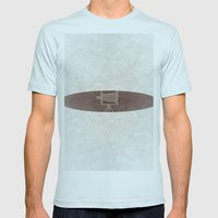 old photo camera Mens Fitted Tee Light Blue SMALL