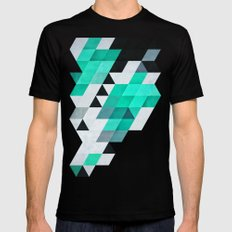 mynt Black SMALL Mens Fitted Tee