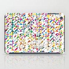 triangles iPad Case
