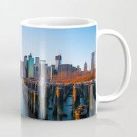 Sunset over Manhattan Mug