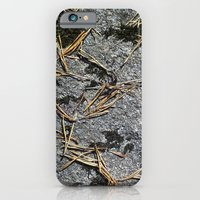 fir needle on a rock Texture iPhone 6 Slim Case