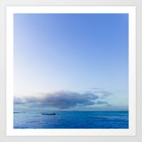 calm day 05 Art Print