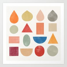 abstractions 1 Art Print