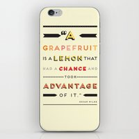 Oscar Wilde: A Grapefrui… iPhone & iPod Skin