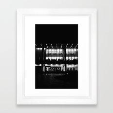 The Library Framed Art Print