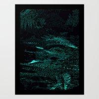 Fern Evolve Art Print