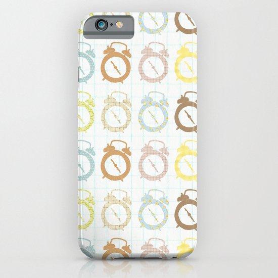clocks pattern iPhone & iPod Case