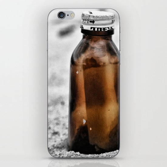 Message in a bottle Washed up on the shore Waiting to be found Love lost no more iPhone & iPod Skin