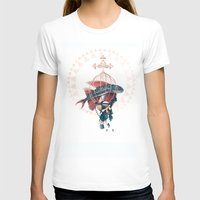 FlyFish Womens Fitted Tee White SMALL