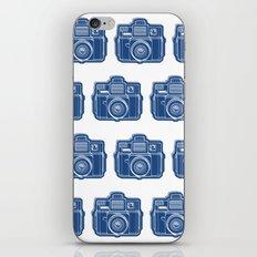 I Still Shoot Film Holga Logo - Blue iPhone & iPod Skin